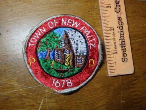 NEW PALTZ NEW YORK   PATCH   BX C#4