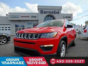 JEEP COMPASS SPORT  A/C  BLUETOOTH  ORANGE MANUELLE