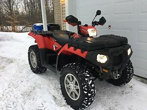 POLARIS SPORTSMAN TOURING EPS 850HO. VRAIS DEUX PLACES. 2014