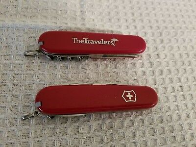 Victorinox Swiss Army Knife Spartan Lot of 2/  Vintage *Retired* + Modern Red](Spartan Wholesale)
