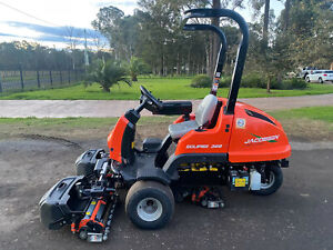 2018 JACOBSEN ECLIPSE 322 GREENS CYLINDER REEL GOF COURSE RIDE ON LAWN MOWER JOHN DEERE TORO Austral Liverpool Area Preview