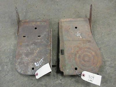 John Deere 40 420 430 T Tricycle Foot Rest Platform Set Of 2  Set 1