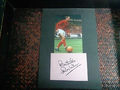 RAY WILSON HUDDERSFIELD + ENGLAND 1966 World Cup Final  Player   Signed