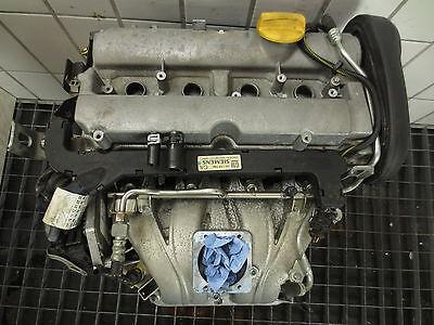 16 Ps Motoren (Opel 1,6 Motor 101PS Z16XE Vectra Astra Zafira  85-135 tkm)