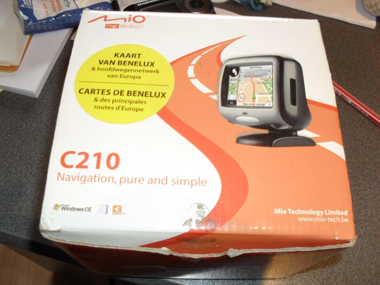 GPS MIO - C210idem que sur les photos