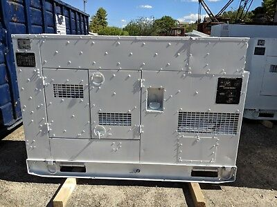 Used 60 Kw Diesel Generator John Deere Low Hours 120208 240416 Volts