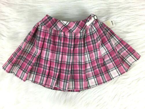 Childrens Place Plaid Skirt Pink Girls Sz 12 Months NWT