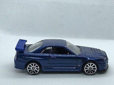 NISSAN SKYLINE GT-R R34 Hot wheels