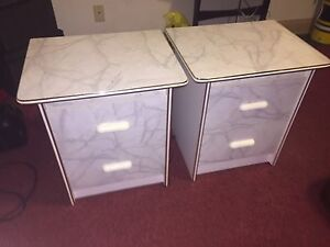 End tables brand new