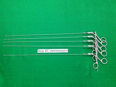 5 Pieces Hysteroscopy Scissor 5fr Laparoscopic Endoscopy Surgical Instruments