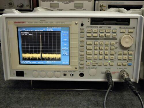 Advantest R3267 Spectrum Analyzer 100 KHz to 8 GHz with many options - working