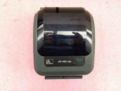 Zebra Zp450 Network Thermal Label Barcode Printer Only Read C639