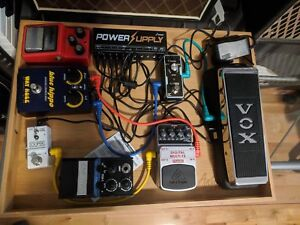 - Selection of Effects Pedals - $150 for the lot