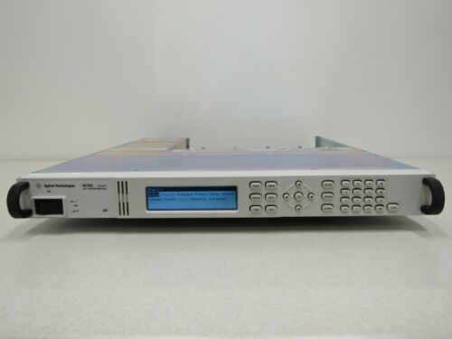 Agilent Keysight N6700B Low-Profile Modular Power System Mainframe 400W