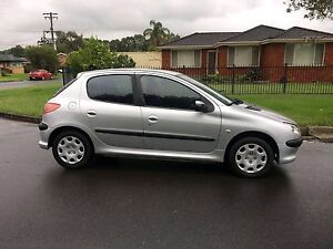 2005 Peugeot 206 XR Hatchback Manual 8months Rego Low Kms Liverpool Liverpool Area Preview