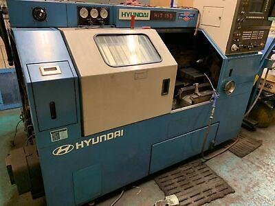 Used Hyundai Hit 15s Cnc Lathe Siemens Tailstock Tool Presetter