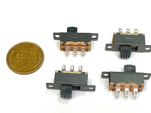 4 Pieces Slide Switch DPDT SS22F32 G5 PCB Panel mount mini 6 pin Miniature C1