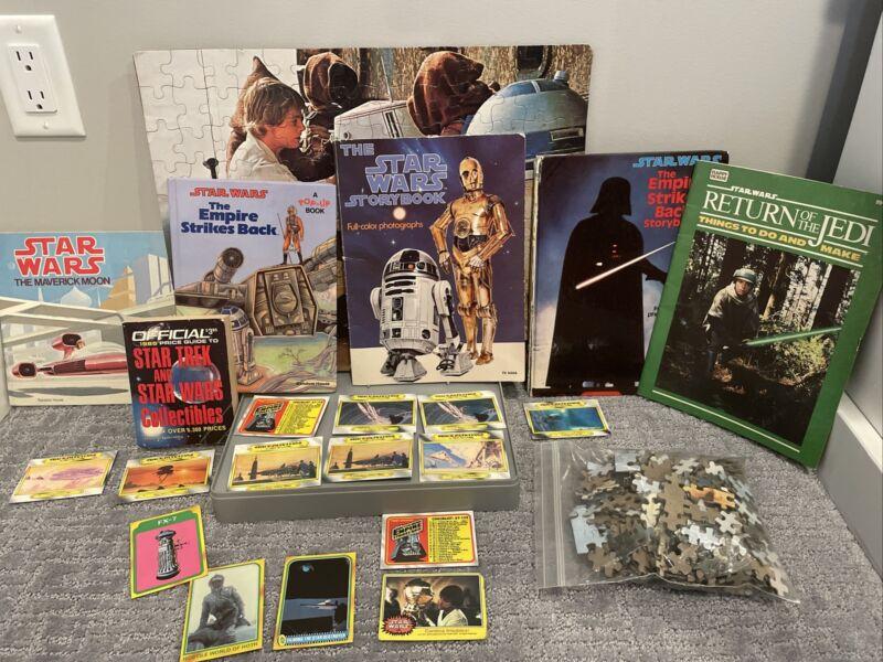 Star Wars, ESB Storybooks Full-Color Photographs Hard Cover & Paperback & More