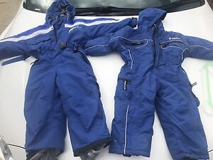 Boys kids children's ski jacket suits size 2 and 4 Sippy Downs Maroochydore Area Preview