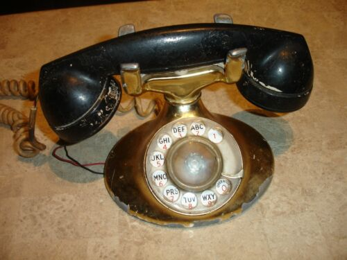Vintage Rotary Phone - Western Electric D1
