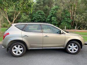 2006 Nissan Murano Z50 Ti Champagne Gold