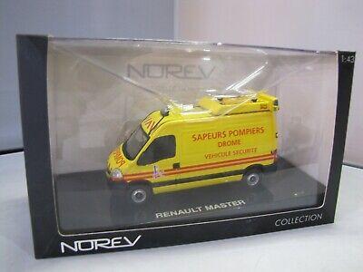Norev 518763 Renault Master pompiers Vehicule balisage securite 1:43