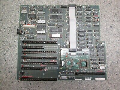 VINTAGE 386 MOTHERBOARD with Micronics 387 adapter