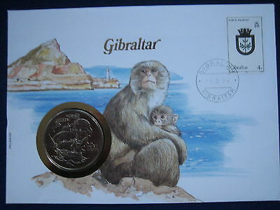 MDS GIBRALTAR NUMISBRIEF - DIE BRIEFE DER NATIONEN (BOX B)