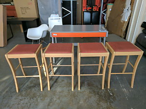 Set of 4 bar stools - REDUCED Eumemmerring Casey Area Preview