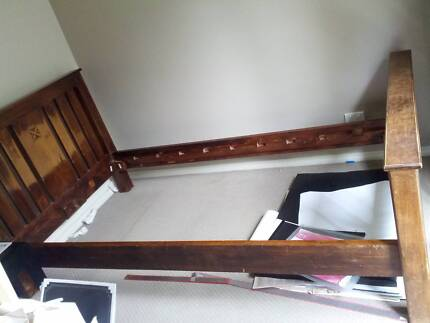 Used Bed Frame - Solid Wood