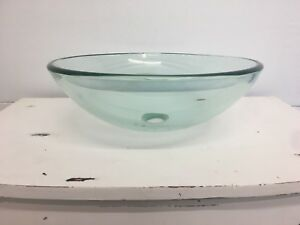 Brand new clear vessel (bowl) sink
