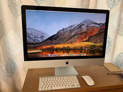 """Apple iMac 27"""" Intel QUAD Core i7 3.4Ghz 16GB Ram 256GB SSD + 4TB HDD 1GB Radeon"""