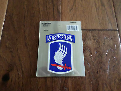 U.S ARMY MILITARY 173RD AIRBORNE SKY SOLDIERS  WINDOW DECAL/BUMPER STICKER.