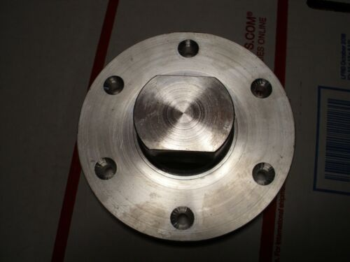 """5"""" Wood lathe face plate with your choice of threaded hole.  See details below."""