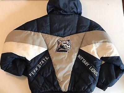 PRO PLAYER Penn State Starter Men's XL HALF Zip Pullover Hooded Jacket