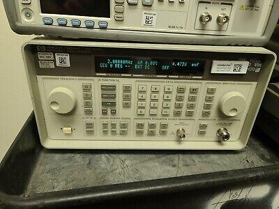 Hp Agilent 8648c Synthesized Rf Signal Generator 9khz - 3.2ghz