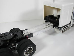 Custom Aluminum 6 inch Frame extension for Tamiya RC 1/14 King Hauler Semi Truck