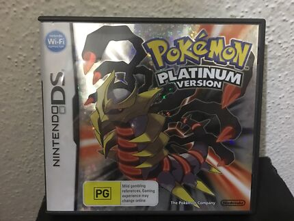 DS Pokemon Platinum Version Game