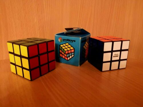 2 pieces in one lot!USSR+ Hungarian magic Politoys Rubik