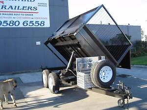 From $57 p/wk on finance* 10x6 3 Way Electric Hydraulic Trailer Carrum Downs Frankston Area Preview