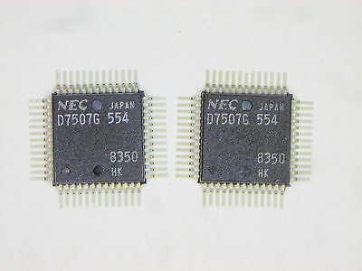 Upd7507g Original Nec 52p Smd Ic 2 Pcs