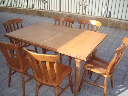 Wooden Extension Table Byford Serpentine Area Preview