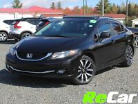 2015 Honda Civic Touring HEATED LEATHER | SUNROOF | BACK UP CAM Saint John New Brunswick Preview
