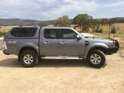 2010 Ford Ranger XLT dual cab Wooragee Indigo Area Preview
