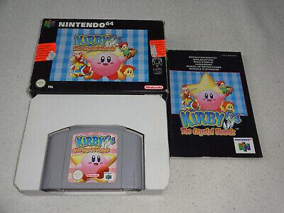 Kirby 64 the Crystal Shards Nintendo 64 N64 Spiel komplett CIB