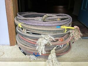 Used head and heel ropes for sale