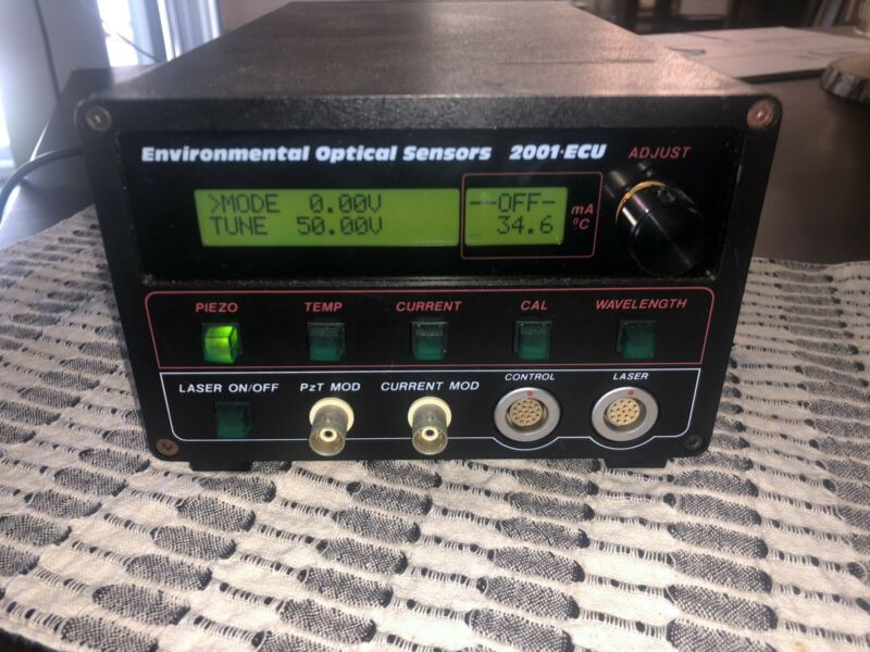 EOSI Environmental Optical Sensors ECU-2001-M Diode Laser Controller