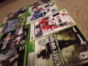 Xbox360 games!