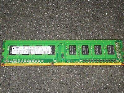 SAMSUNG M378B2873EH1 CH9 PC3 10600U DDR3 1333 NON ECC RAM 1X 1GB K123 1