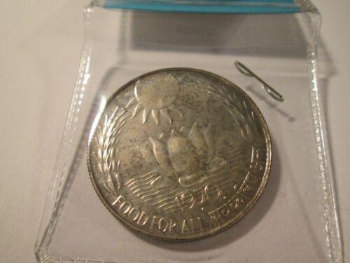 1970 INDIA SILVER 10 RUPEES FAO  PROOF   UI 1